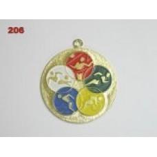 Medaile 206 - letní sporty