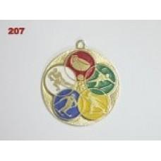 Medaile 207 - zimní sporty