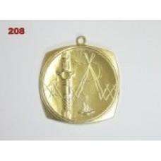 Medaile 208 - tábor