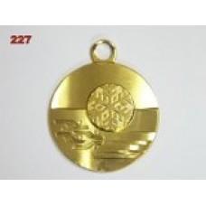 Medaile 227 - sněhová vločka