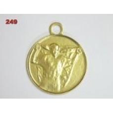 Medaile 249 - vítěz s vlajkou