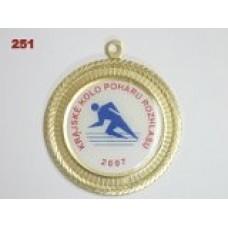 Medaile 251 - libovolný motiv