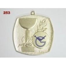 Medaile 253 - pohár s ratolestí
